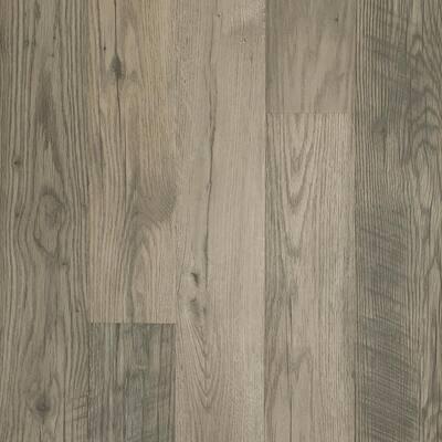 Outlast+ Waterproof Highrock Grey Oak 10 mm T x 6.14 in. W x 47.24 in. L Laminate Flooring (967.2 sq. ft. / pallet)