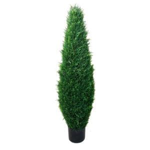 41 in. Faux Potted Artificial Cyprus Tree