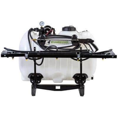 3-Point Sprayer 60 Gal. 12-Volt 7 Nozzle Boom for Utility Tractors
