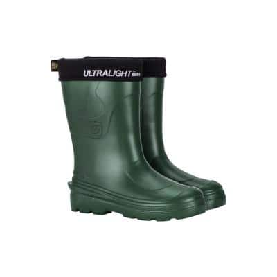 Women Montana Ultralight EVA Rain Garden Work Leisure Boots - Green Size 7.5/8
