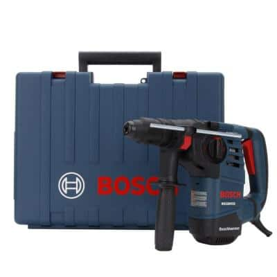 8 Amp 1-1/8 in. Corded Variable Speed SDS-Plus Concrete/Masonry Rotary Hammer Drill with Carrying Case