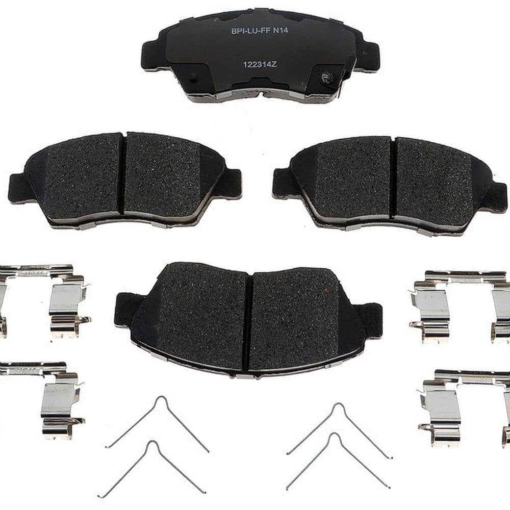 1 Pack Raybestos MGD1855CH Reliant Friction Brake Pad Set
