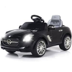 Mercedes Benz SLS Electric R/C mp3 kids Ride On Car Battery Toy