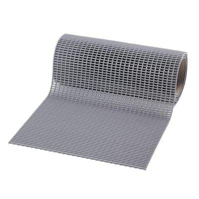 Skypath Grey 3 ft. x 30 ft. PVC Rooftop Safety Rug Runner