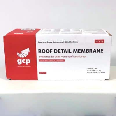 Roofing Detail Membrane 18 in. x 75 ft. Roll Self Adhered Roofing Underlayment