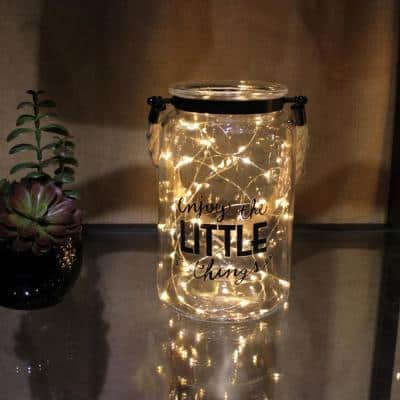 7 in. Clear Glass Hurricane Candle Holder