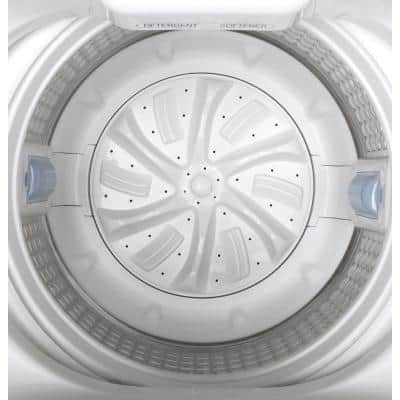 2.8 cu. ft. Capacity Portable Washer with Stainless Steel Basket