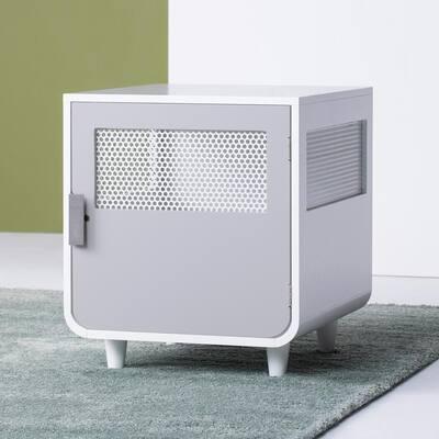 Radius Small Alpine White Wooden Dog Crate