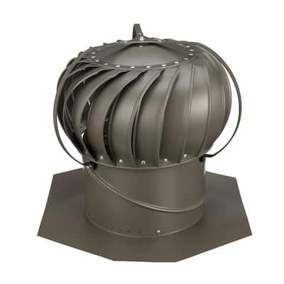 12 in. Weatherwood Aluminum Externally Braced Wind Turbine