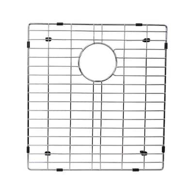 17.8 in. x 16.5 in. Kitchen Sink Bottom Grid in Stainless Steel