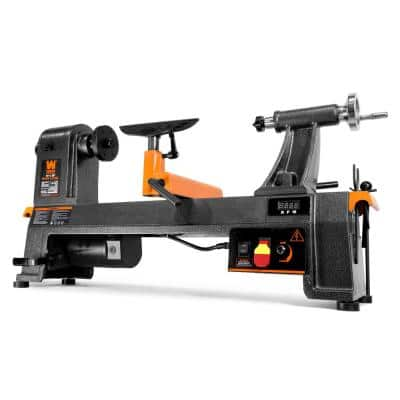 6 Amp 14 in. x 20 in. Variable Speed Benchtop Wood Lathe