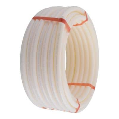 1 in. x 100 ft. Coil White PEX-A Pipe