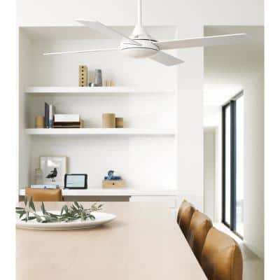 Airlie II White 52 in. with Remote Ceiling Fan