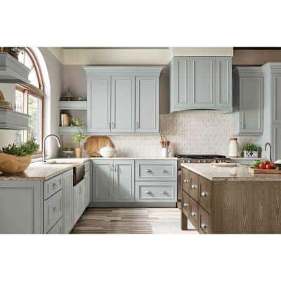 Custom Kitchen Cabinets Shown in Modern Style