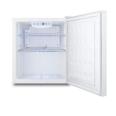 17 in. 1.7 cu. ft. Commercial Mini Refrigerator without Freezer in White
