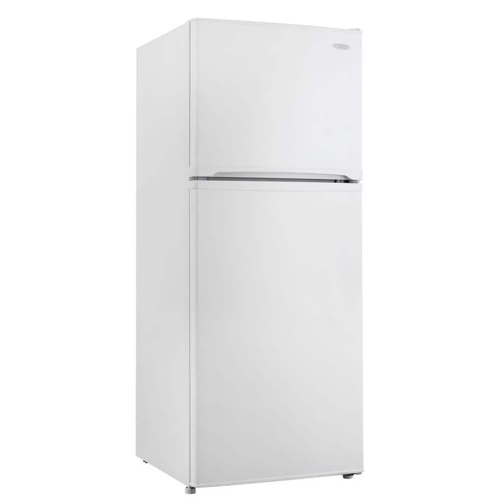 Danby 9.9 cu. ft. Top Freezer Refrigerator in White, Counter Depth
