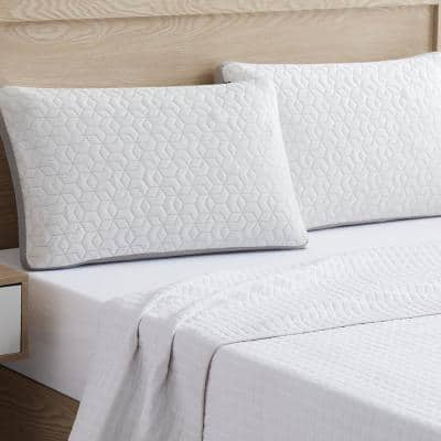 Feather Touch Bamboo King Single Pillow