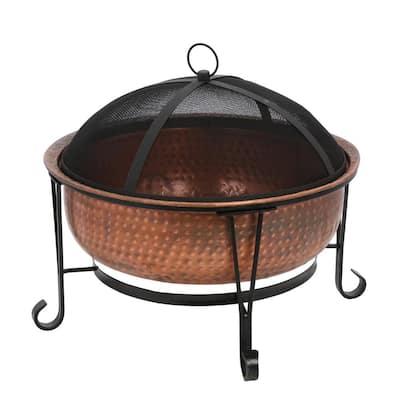 Vintage Copper Fire Pit