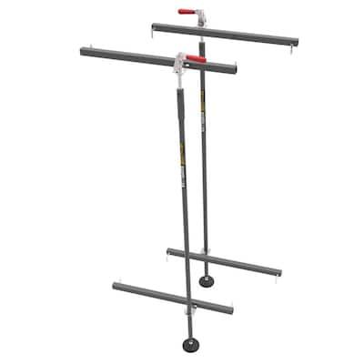 Jobsite 6 ft. Steel Baker Scafflock, Stabilizer Equipment Attachment for Even Construction Scaffold Flooring (2-Pack)