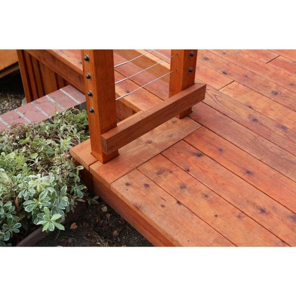 Mendocino Forest Products 2 In X 6 In X 10 Ft Construction Heart S4s Redwood Lumber 108634 The Home Depot