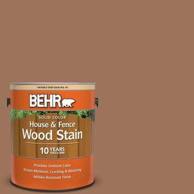 1 gal. #SC-152 Red Cedar Solid Color House and Fence Exterior Wood Stain