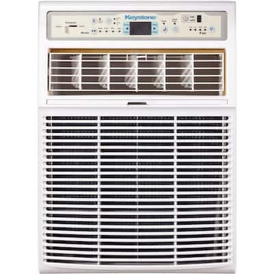 10,000 BTU Slider/Casement Window Air Conditioner in White