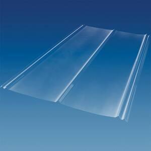 6 ft. 5V Crimp Polycarbonate Roof Panel in Clear