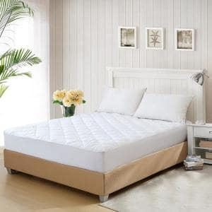 15 in. Queen Polyester Mattress Pad