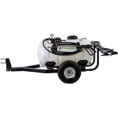 Trailer Sprayer 40 Gal. 12-Volt 5 Nozzle Boom for ATV's, UTV's and Lawn Tractors