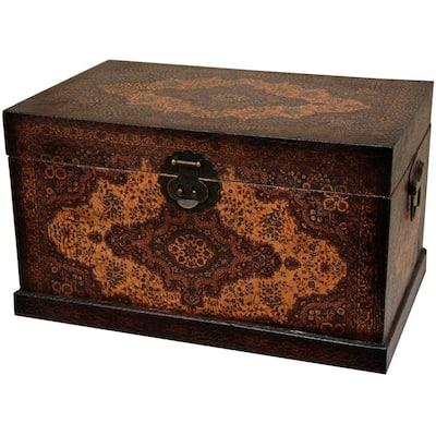 18.5 in. x 10.75 in. Olde-Worlde Baroque Storage Box