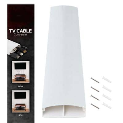32 in. Wall Raceway Cable Management Kit