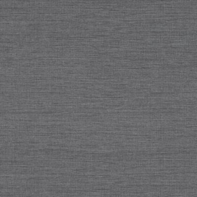 Essence Dark Grey Linen Texture Vinyl Strippable Wallpaper (Covers 60.8 sq. ft.)