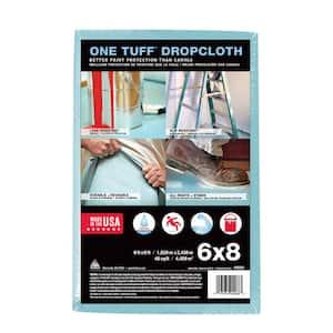 One Tuff 6 ft. x 8 ft. Professional Grade Drop Cloth