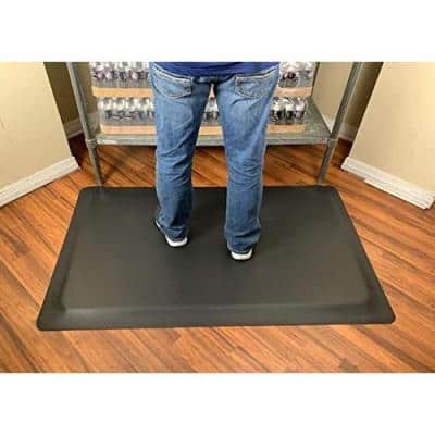 Industrial Smooth 4 ft. x 6 ft. x 1/2 in. Commercial Floor Mat Anti-Fatigue