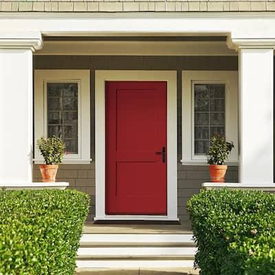 Builders Edge Fiberglass Door