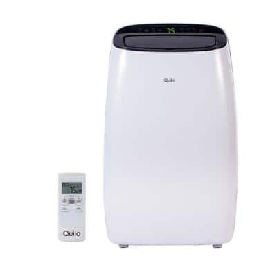 12,000 BTU 115-Volt Portable Air Conditioner with Remote Control and Dehumidifier in White