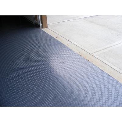 Diamond 10 ft. Wide x Custom Length Grey Commercial Grade Vinyl Flooring