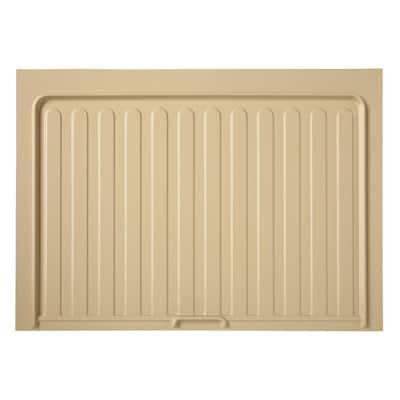 0.72 in. H x 28.5 in. W x 23.25 in. D Small Almond Sink Base Drip Tray