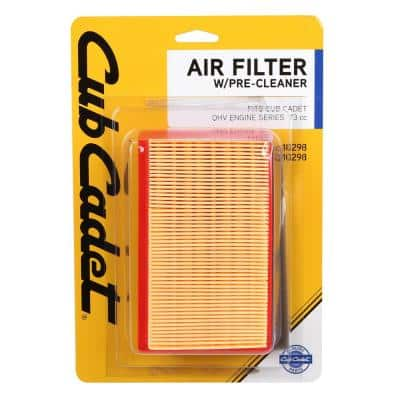 Origional Equipment Air Filter for Cub Cadet 139cc and 173cc Engines with Pre-Filter Included OE# 751-10292