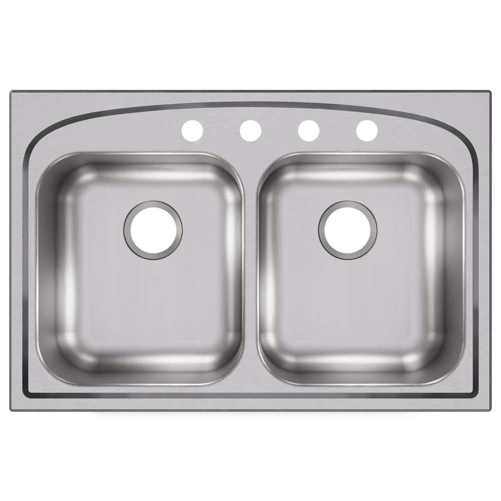 Elkay LRAD3321452 Sink Stainless Steel