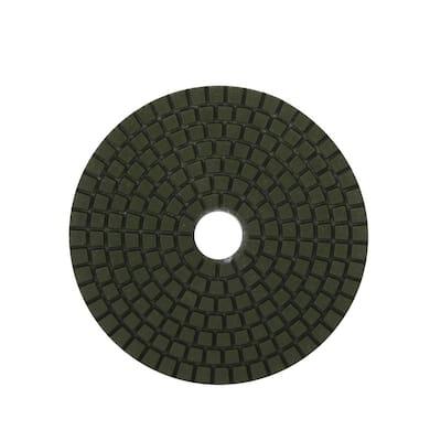 4 in. 50 Grit Resin Wet Polishing Pad
