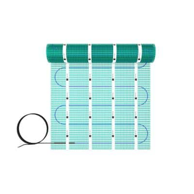 TempZone 12 ft. x 24 in. 120-Volt Radiant Floor Heating Mat (Covers 24 sq. ft.)