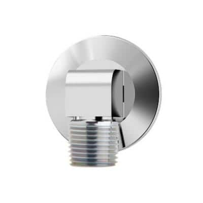 2.5 in. x 1.7 in. Street Elbow and Escutcheon