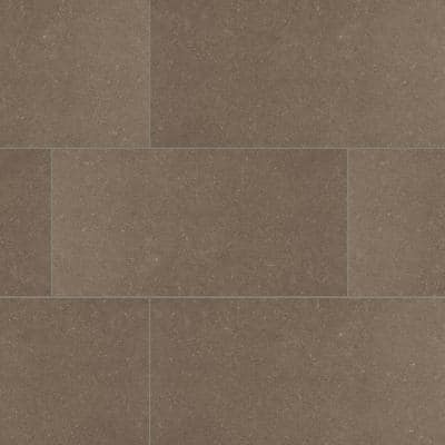 Beton Concrete 12 in. x 24 in. Matte Porcelain Floor and Wall Tile (12 sq. ft./Case)