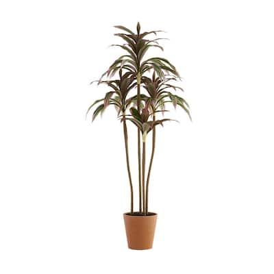 3.33 ft. Indoor Artificial Sago Cycas Tree