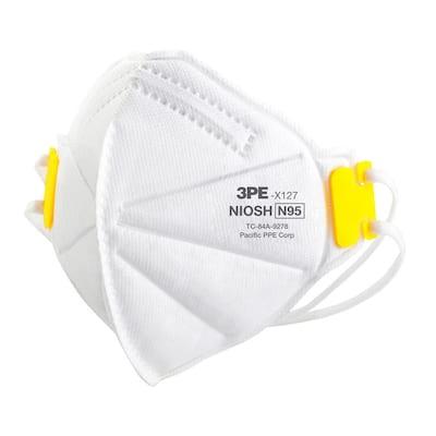 N95 Disposable Multi-Purpose Respiratory Mask (5-Pack)