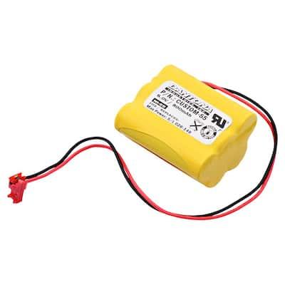 Dantona 6-Volt 800 mAh Ni-Cd battery for Sure-Lites - 026-149 Emergency Lighting