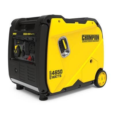 4650-Watt Recoil EZ Start Gasoline RV Ready Inverter Generator with Quiet Technology