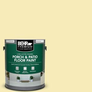 1 gal. #P320-2 Lantern Light Low-Lustre Enamel Interior/Exterior Porch and Patio Floor Paint