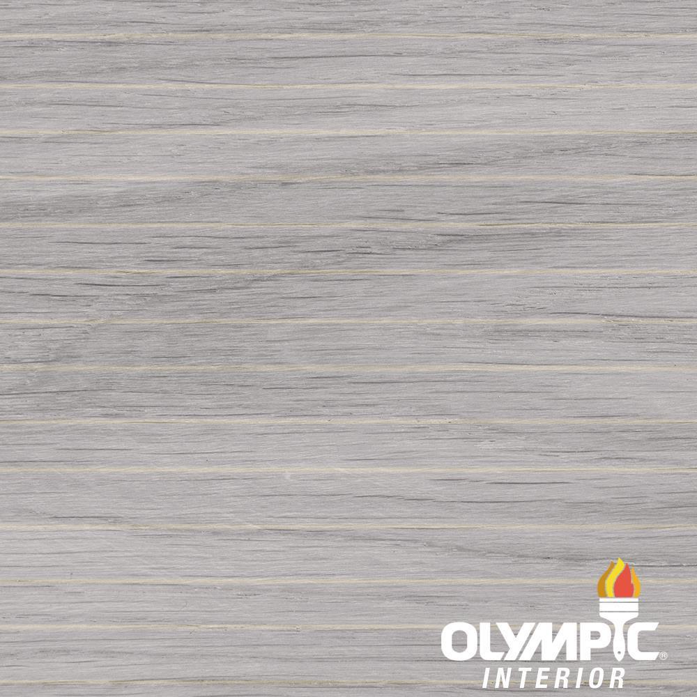 1-gal. White Semi-Transparent Oil-Based Wood Finish Penetrating Interior Stain